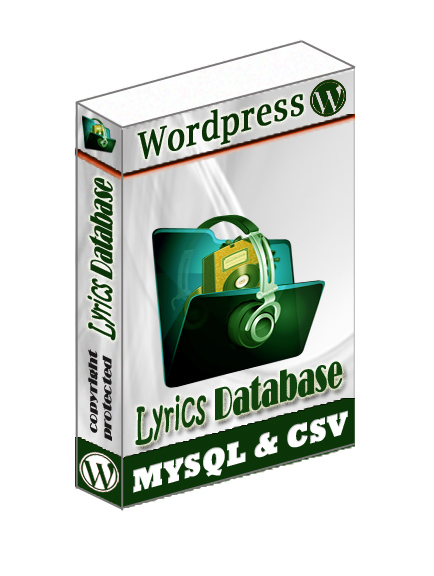 WordPress Lyric Database