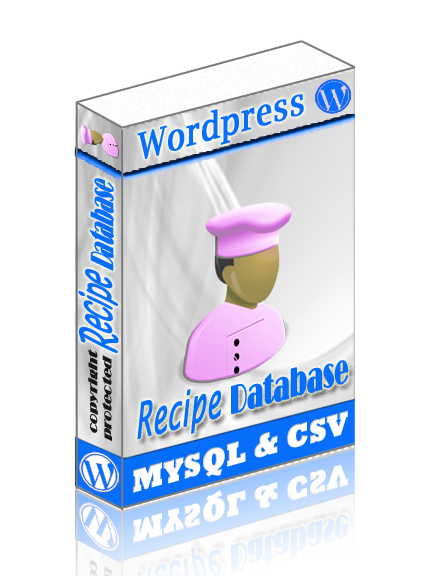 WordPress Recipe Database