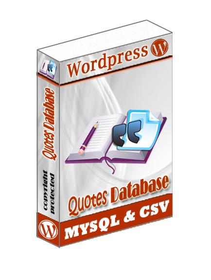15k+ Quotes wordpress DB