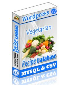 Veg Recipe Wordpress Database