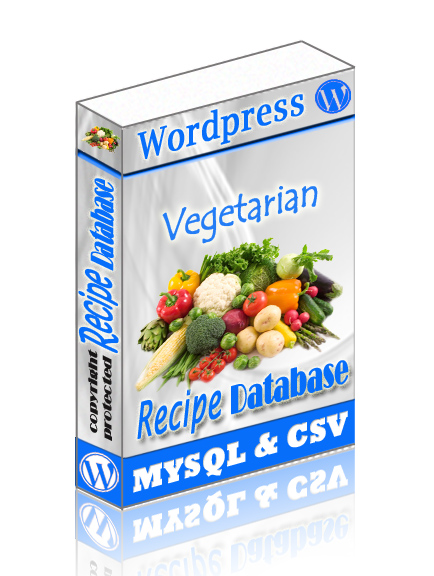 Veg Recipe WordPress DB