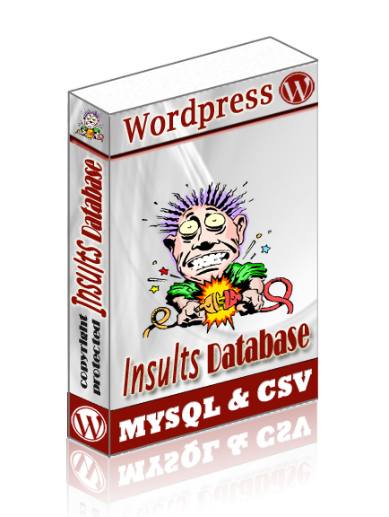 wordpress Insults db